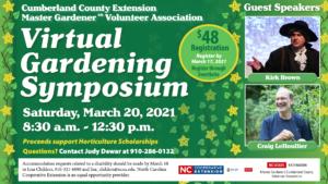 Cover photo for 2021 Extension Master Gardener Volunteer Spring Symposium