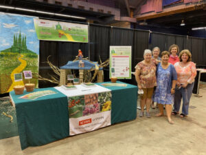 Cover photo for Fair Booth Takes 1st Place!
